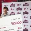 17-годишният Остин Уършки запази титлата си на Шампион на САЩ по бързо писане на SMS-и. // Снимки: Reuters