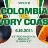 Colombia-v-Ivory-Coast