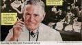 Пушещ лекар, изобразен на стара реклама на цигари