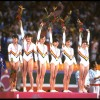 Romania women gymnastics team 1984